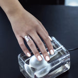 Diamond Tube Ring (Silver) - Chainless Brain - 2