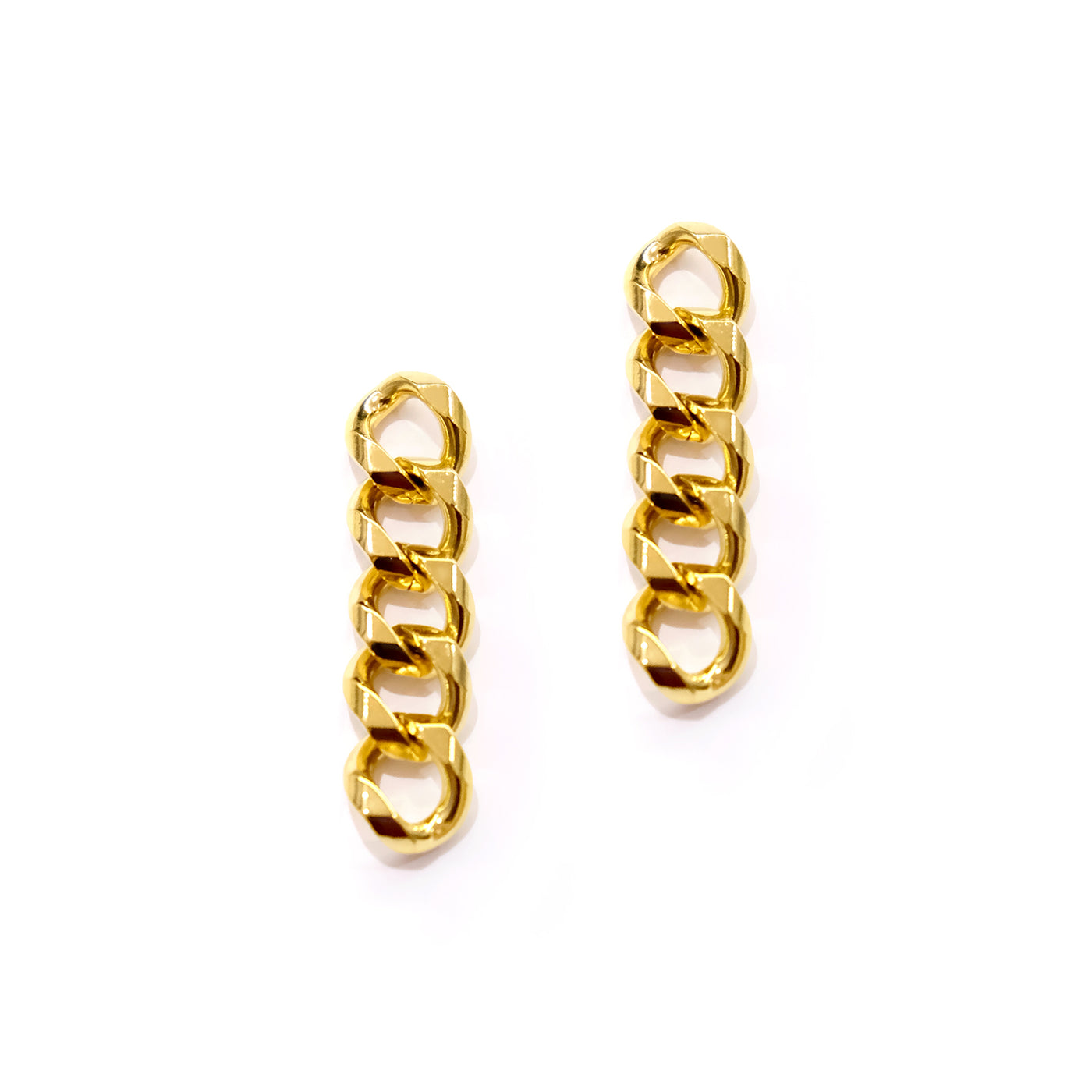 Cuban Gold Earrings