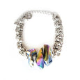 Aura Quartz Statement Bracelet - Chainless Brain