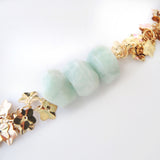 Amazonite Gold Bracelet - Chainless Brain - 2
