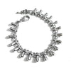 Teardrops Silver Bracelet - Chainless Brain - 1