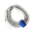 Lapis Lazuli Statement Bracelet - Chainless Brain