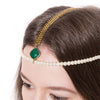 Chalcedony Headpiece - Chainless Brain - 2