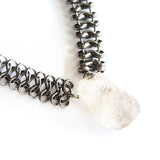 Chunky Herkimer's Diamonds Necklace - Chainless Brain - 3