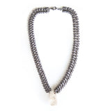 Chunky Herkimer's Diamonds Necklace - Chainless Brain - 1