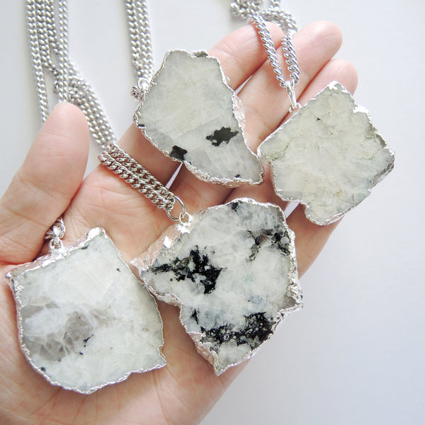 Moonstone Necklace - Chainless Brain