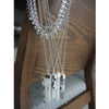 Chainless Brain - Moonstone Pointed Pendant Necklace