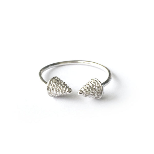Spikey Studs Ring - Chainless Brain