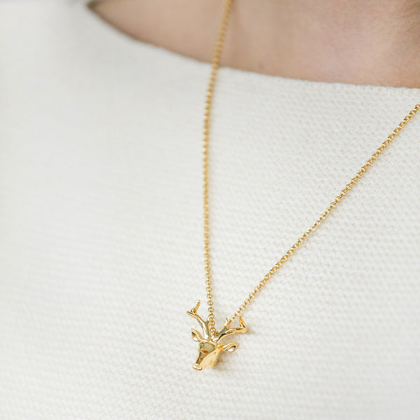 Mini Reindeer Necklace