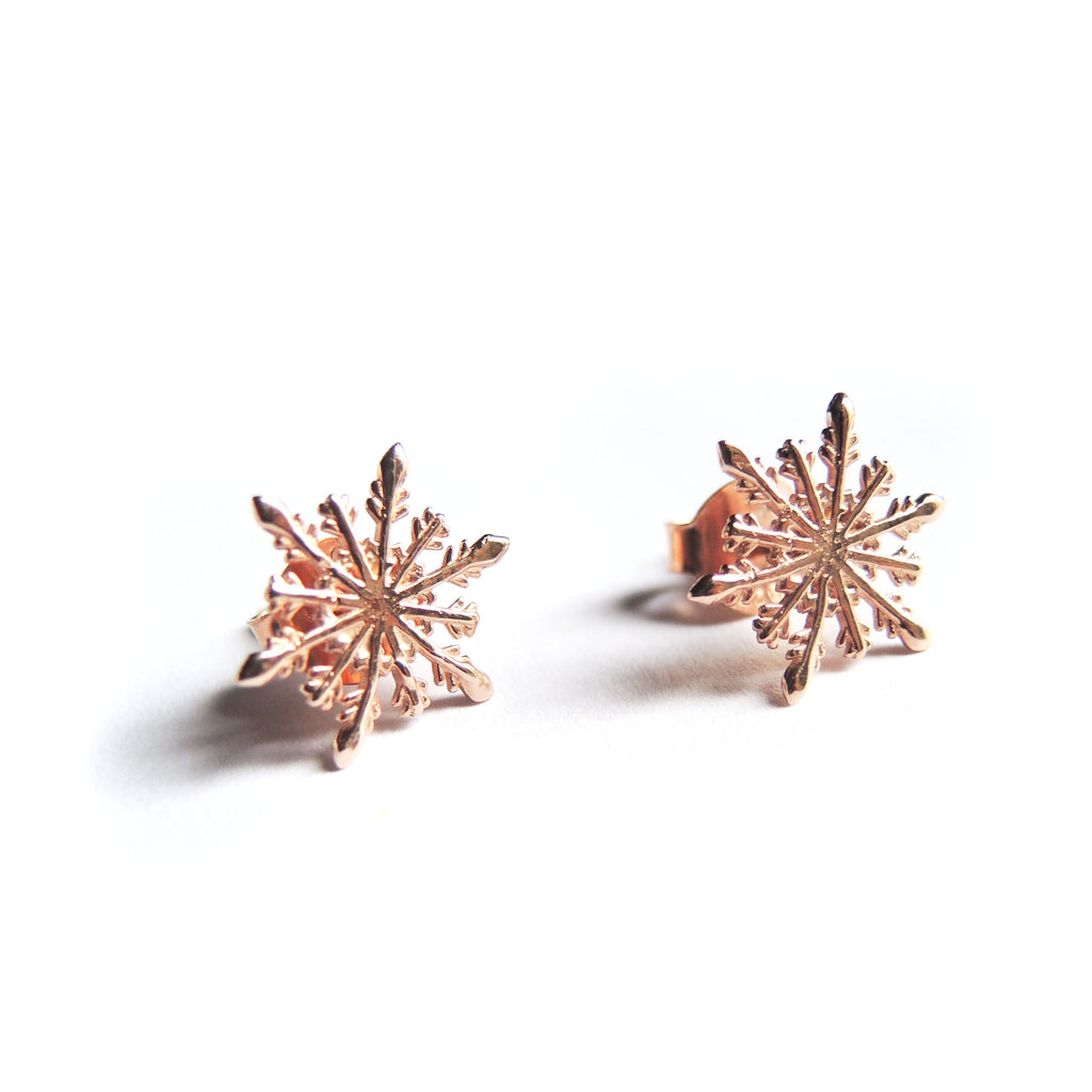 Snowflake Earrings - Chainless Brain - 1