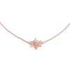 Mini Snowflake Necklace - Chainless Brain