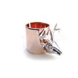Chainless Brain - Reindeer Ring - 18K Rose Gold Plated