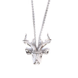 Mini Reindeer Necklace - Chainless Brain