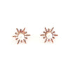 Detachable Snowflake Earrings - Chainless Brain - 5