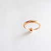Pearl Facet Ring (Rose Gold) - Chainless Brain - 2