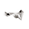 Diamond Studs (Dark Silver) - Chainless Brain - 2