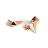 Diamond Studs (Rose Gold) - Chainless Brain - 2