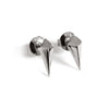 Diamond Studs (Dark Silver) - Chainless Brain