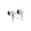 Diamond Studs (Silver) - Chainless Brain - 1