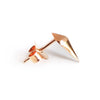 Diamond Studs (Rose Gold) - Chainless Brain - 4