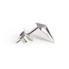 Diamond Studs (Silver) - Chainless Brain - 3