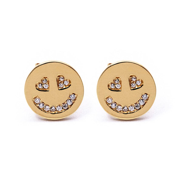In Love Face Earrings - Chainless Brain