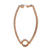 Chainless Brain - 18K Rose Gold Choker Necklace