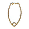Chainless Brain - 18K Yellow Gold Choker Necklace