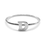 Alphabet Ring A - M (Silver) - Chainless Brain - 4