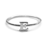 Alphabet Ring A - M (Silver) - Chainless Brain - 5
