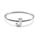 Alphabet Ring A - M (Silver) - Chainless Brain - 10