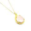 Pearl Necklace (Yellow Gold) - Chainless Brain - 1