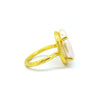 Pearl Ring (Yellow Gold) - Chainless Brain - 2
