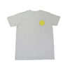 Smiling Face Tee (Grey) - Chainless Brain