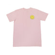 Smiling Face Tee (Pink) - Chainless Brain