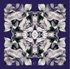 Indigo Petals Scarf - Chainless Brain - 1
