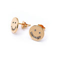 Smiling Face Earrings - Chainless Brain