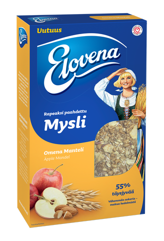 Elovena Apple-Almond Muesli (350 g)