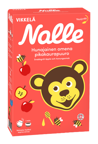 Nalle Apple with Honey Instant Oat Meal (475 g)