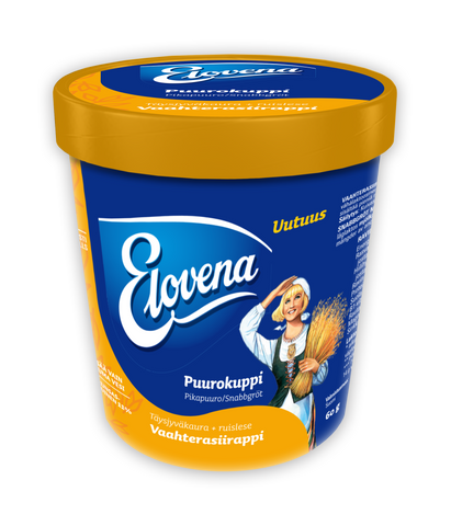 Elovena Maple Syrup Porridge Cup (60 g)