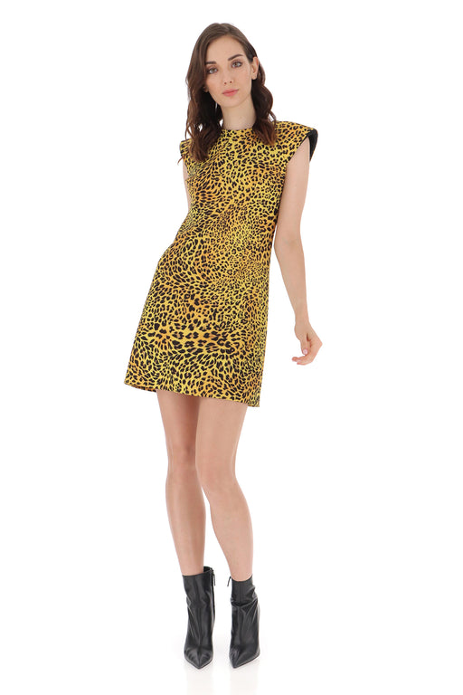 ANIMAL PRINT SHEATH DRESS - justBrazil store