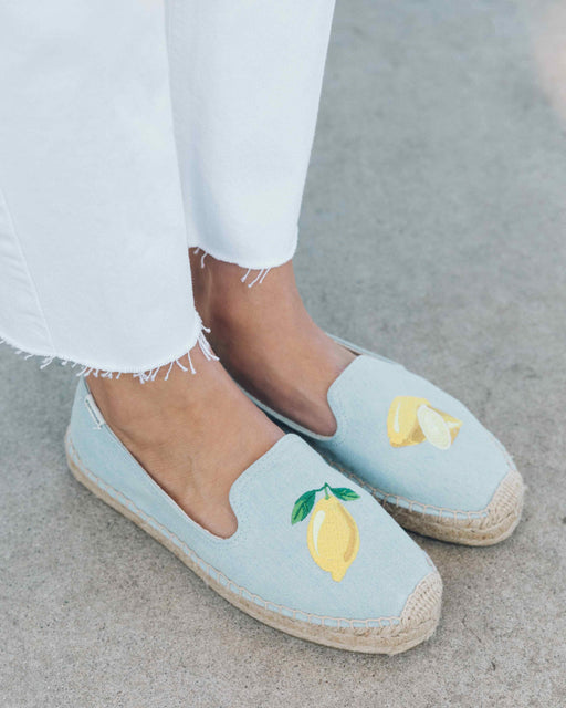 LEMON PLATFORM SMOKING SLIPPER - justBrazil store