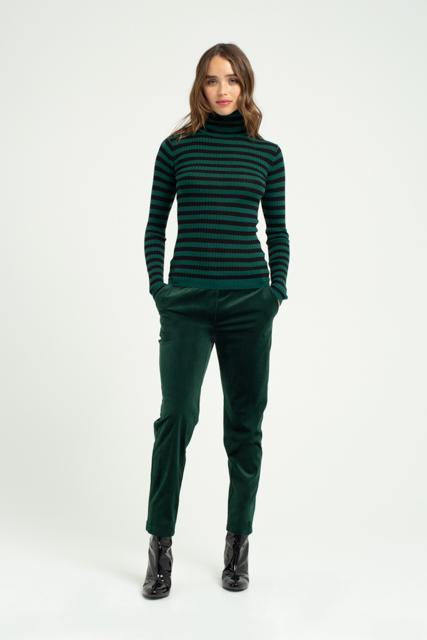 GREEN PATRIOTE SWEATER