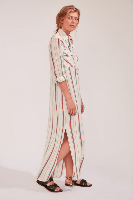 ANTONIO LONG STRIPED DRESS - justBrazil store