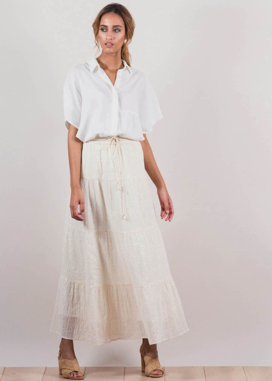LEO LE LUREX SKIRT