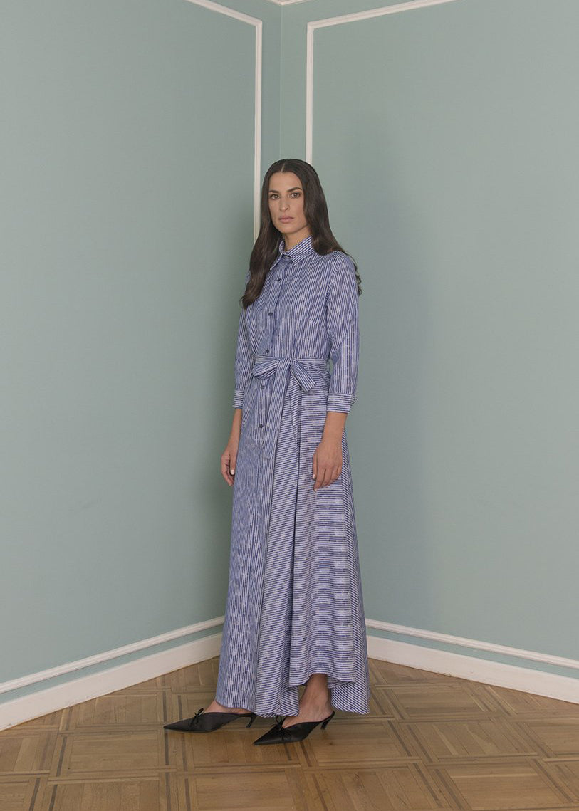 DIANA V LONG SHIRT DRESS