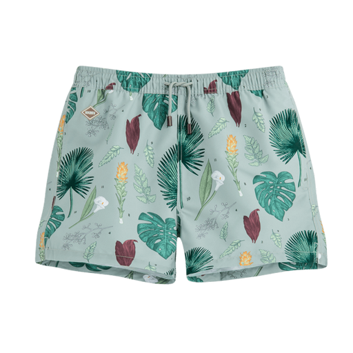 FLOWER POWER SWIM SHORTS