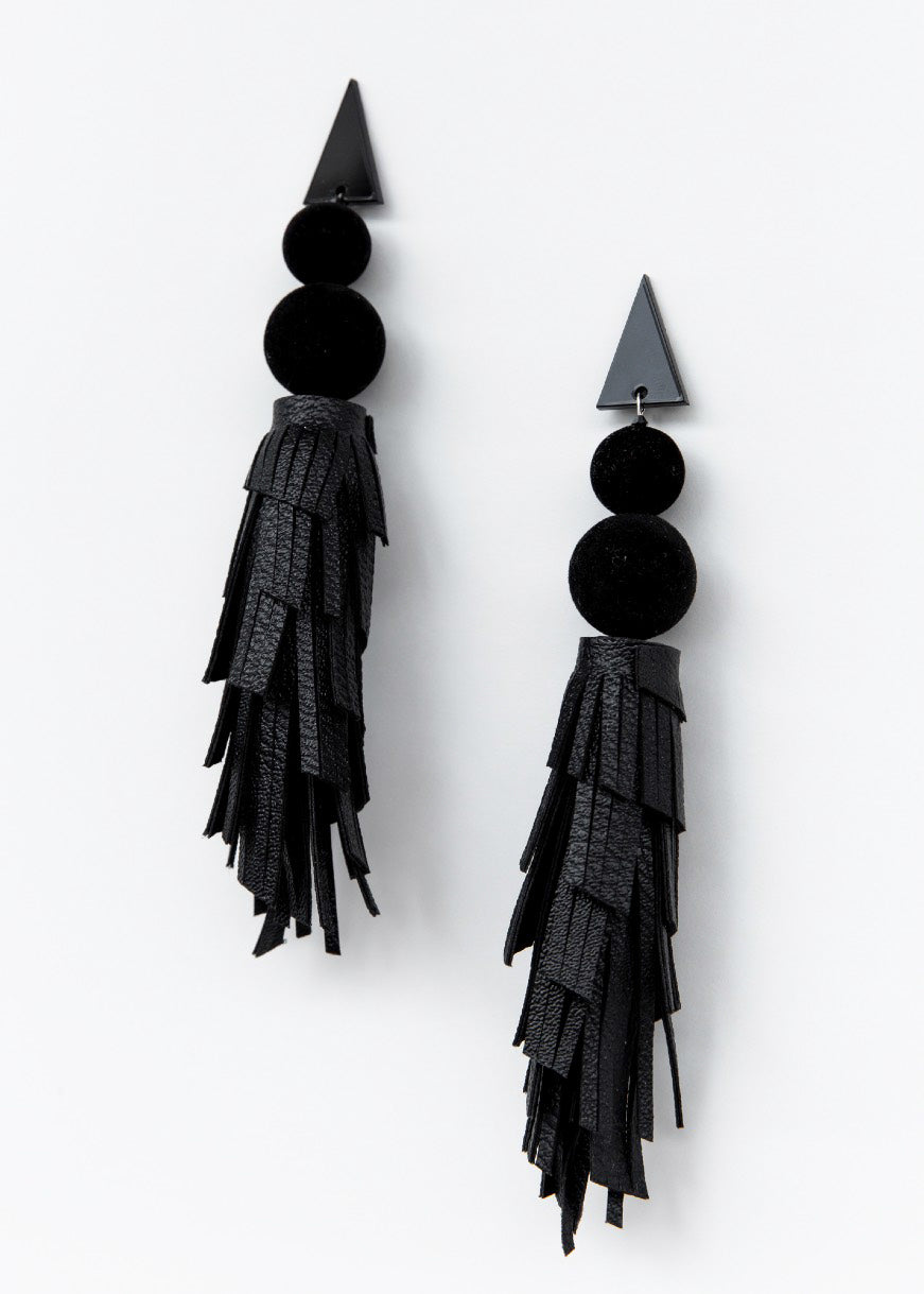 BLACK PANTHER EARRINGS - justBrazil store