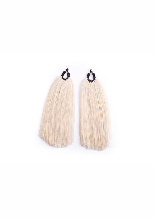 OREJAS DE CONEJO BLACK EARRINGS - justBrazil store
