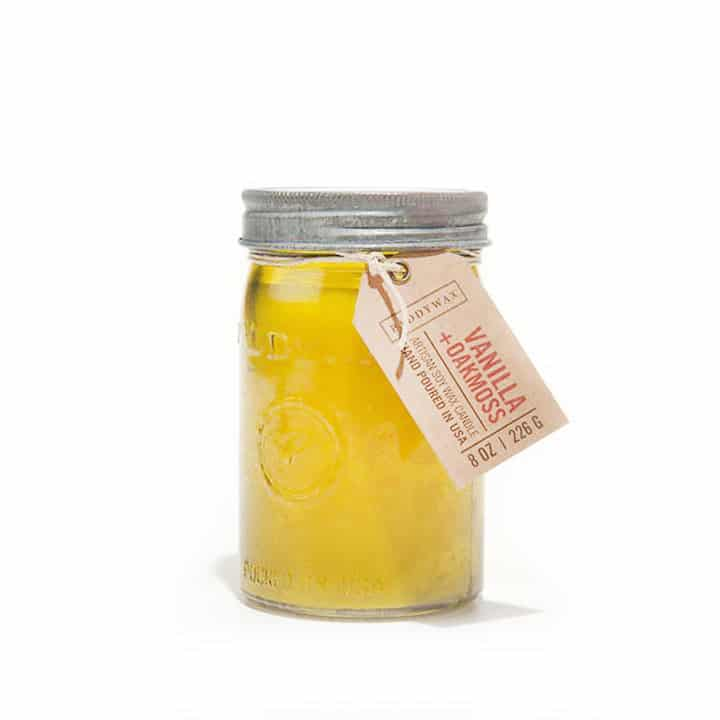 RELISH VANILLA + OAKMOSS JAR CANDLE